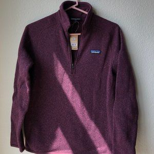"""Women's """"Better Sweater 1/4 Zip"""" by Patagonia"""